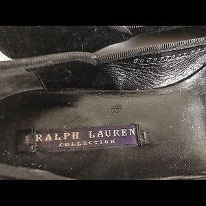 Ralph Lauren Shoes - Ralph Lauren Collection Velvet Bow Flats